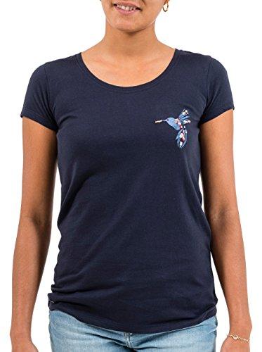 OXBOW k1teanab teanab Shirt bedruckt bestickt Damen Deep Marine