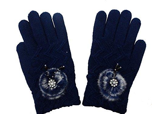 Gajraj Winter Woolen Gloves for Women's