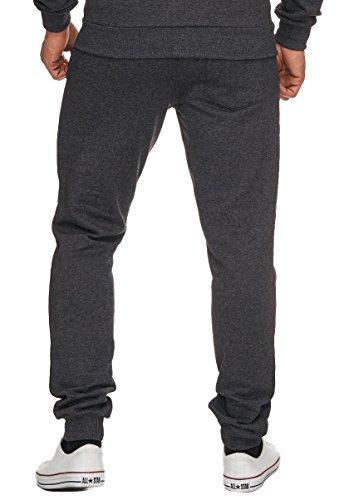 Merish Jogging Pantaloni Uomo Tempo Libero Sport Pantaloni, Jogger, Pantalone leggero comodo e casual, Modell 209 Antracite