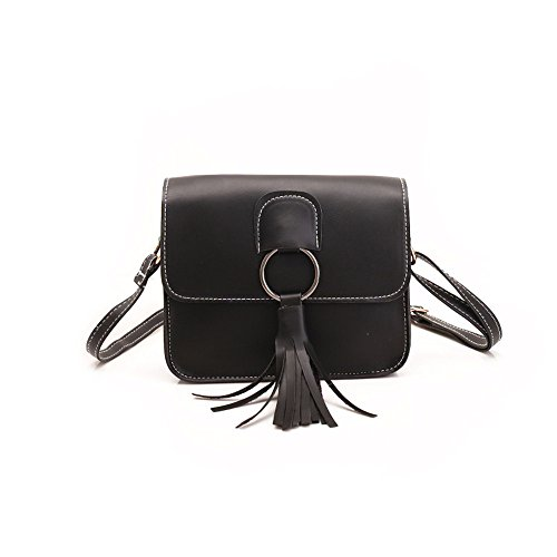 Meoaeo Borsa A Tracolla Nuova Borsa Borsetta Tutti-Match Fashion Pu Grigio black