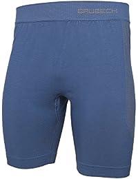 BRUBECK® LB10160 Herren Pyjama (Shorts)   Schlafanzug   MicroModal Air   Klimaregulierender Komfort   Einzigartige Weichheit