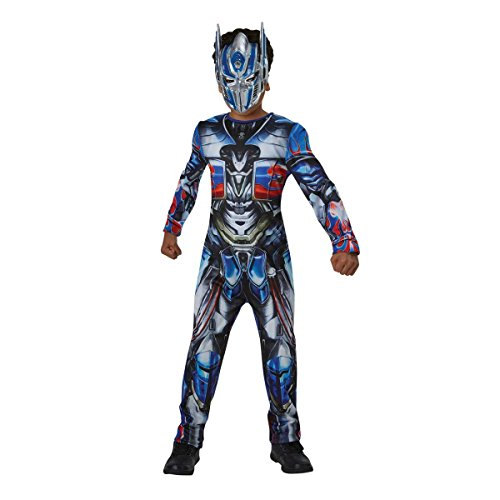 e Kinder-Kostüm, offizielles Transformers The Last Knight Lizenzprodukt (Amazon Halloween Kostüme Für Kinder)