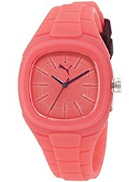Puma Time Damen-Armbanduhr Bubble Gum - S Analog Quarz Silikon PU102882006