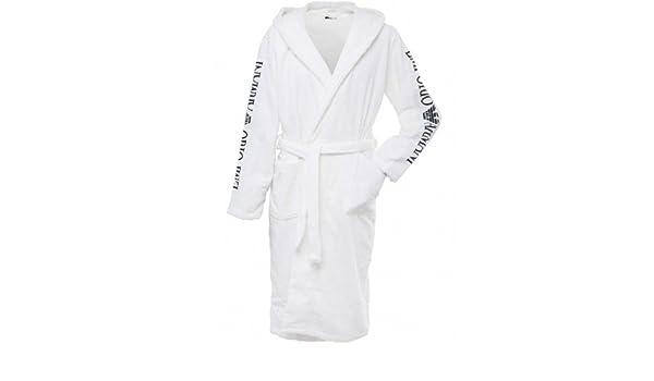 Emporio Armani Dressing Gown White - XL (46-48 Chest)  Amazon.co.uk   Clothing 6e77a0636