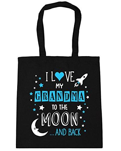 hippowarehouse-i-love-my-grandma-to-the-moon-and-back-tote-shopping-gym-beach-bag-42cm-x38cm-10-litr