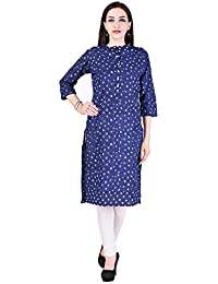 Vaachi Long Office Wear With Pocket Printed Kurti