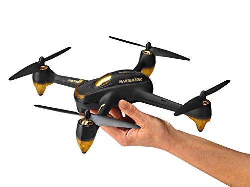 Revell Control RC GPS Quadrocopter mit FPV Full HD-Kamera, ferngesteuert mit GHz Fernsteuerung mit Display für Live-Stream & Telemetrie, bis zu 20 Min Flugzeit, Follow-me, Coming-home, NAVIGATOR 23899 - 3