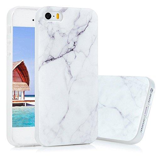 KASOS Funda Carcasa iPhone 5 5S SE Case TPU Ultrafina