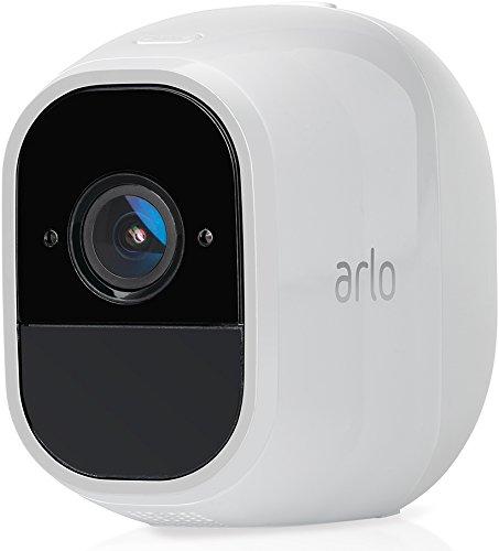 Netgear Arlo Pro 2 wiederaufladbare Smart Home Zusatz-HD-Security-Überwachungs Kamera (Funktioniert mit Alexa, 130 Grad Blickwinkel, Nachtsicht, Wetterfest, 2-wege Audio) weiß, VMC4030P-100EUS Home Security Hd-kamera-system