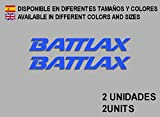 PEGATINAS STICKERS BATTLAX F84 AUFKLEBER DECALS AUTOCOLLANTS ADESIVI AZUL/BLUE