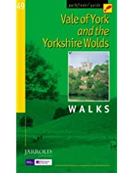 Vale of York and the Yorkshire Wolds: Walks (Pathfinder Guide)