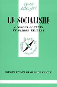 Le socialisme par Georges Bourgin