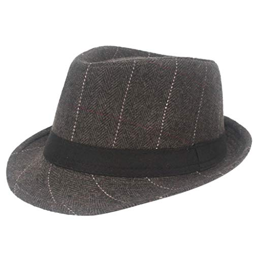 Captain Morgan Kostüm Shirt - Dasongff Unisex Hut Fedora Herren Trilbyhut Panamahut Sonnenhut Hüte Jazz Kappe
