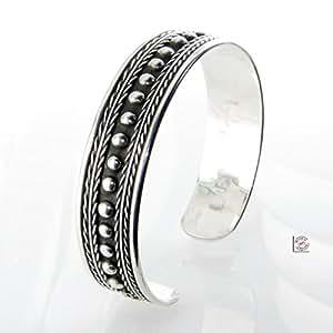 Laoula - Bracelet argent ethnique filigrane Ahmôsis