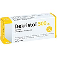 Dekristol 500 I.E. Tabletten, 100 St. preisvergleich bei billige-tabletten.eu