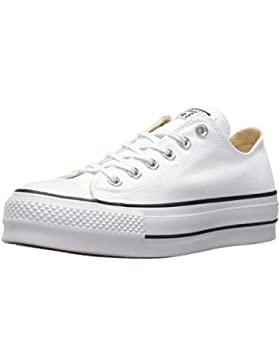 Converse Damen CTAS Lift Ox White/Garnet/Navy Sneaker