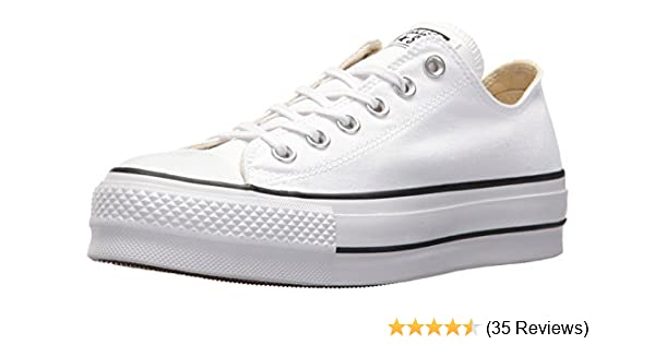 super popular 77f4c 9d1f6 Converse Women s Chuck Taylor All Star Lift Low-Top Sneakers  Amazon.co.uk   Shoes   Bags