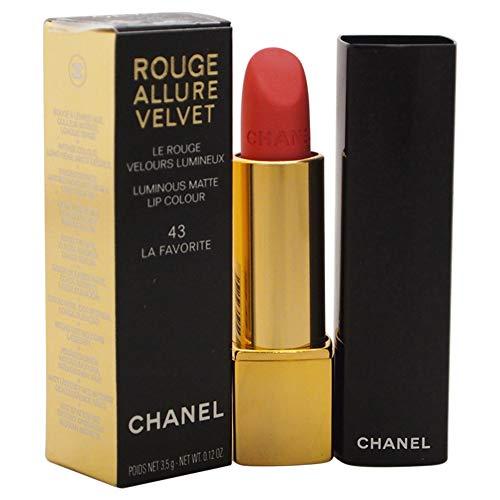 Chanel Rouge Allure Velvet Le Rouge Velours Lumineux 43 La Favorite 3,5 g