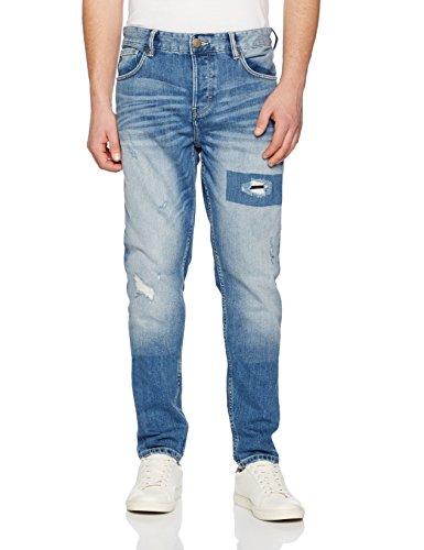 s.Oliver Herren Straight Jeans 13702713837 Blau (blue Denim Non Stretch 55y4)