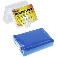 ariel-gxr Auto Reinigungsknete, Auto Knete zur Lackpflege und Felgenreinigung für für Auto, Motorrad, Wohnwagen Etc.160g, Blau