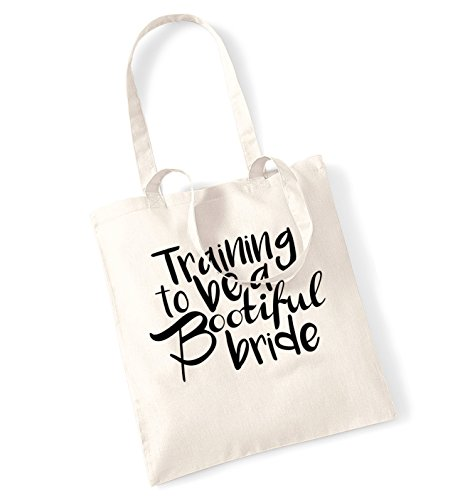 training-to-be-a-bootiful-bride-tote-bag