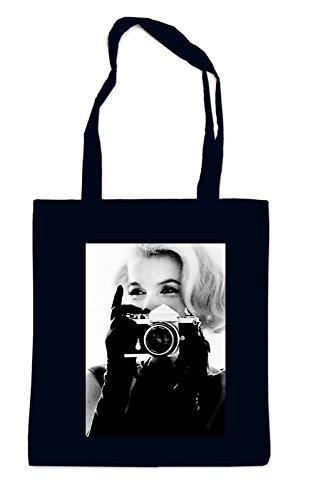 Monroe Taking pictures Sac Noir