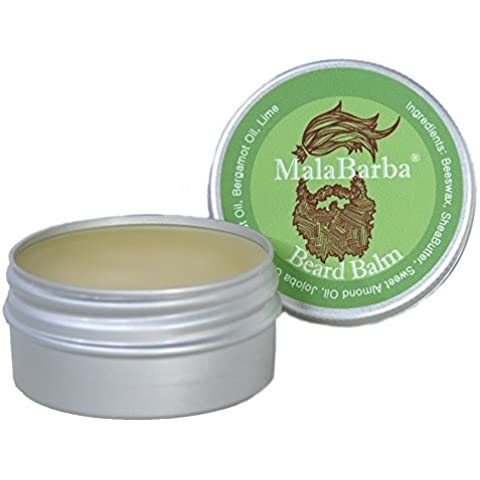 Balsamo da barba by MalaBarba. Bergamotto. Beard Balm. 30 ml - 1 Oz