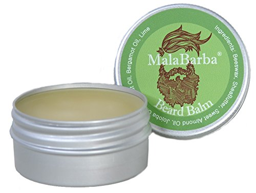 Bálsamo de Barba. Bergamota. Beard Balm by MalaBarba. 30 ml - 1Oz