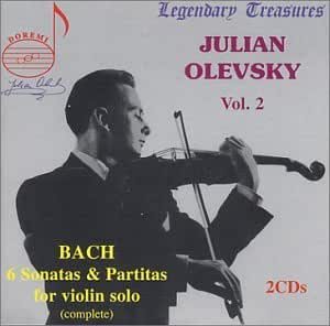 Bach:6 Sonatas & Partitas For Violin