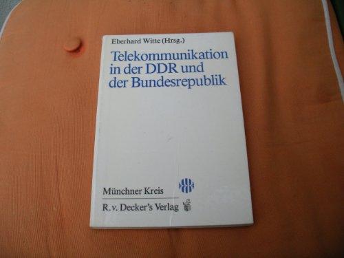 Telekommunikation in der DDR und der Bundesrepublik