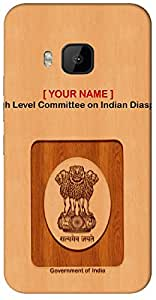 """Aakrti Mobile Back cover with your Dept: High Level Committee on Indian Diaspora.Express Association in your way With """" Your Name """" Printed on your Smart Phone : Samsung Galaxy S-3 Mini / 8190"""