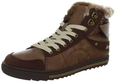 Skechers KicksCoolest, Damen Sneakers, Braun (BRN), 35 EU (2 Damen UK)