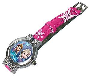 Disney Frozen Reloj de Pulsera Aloy Lazos Caja Regalo, Multicolor, Talla Única (Kids Licensing Wd19637)