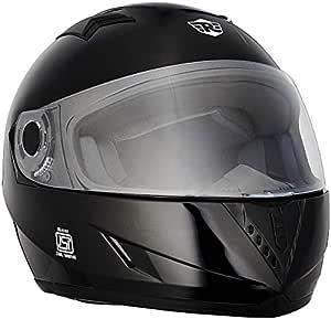 Royal Enfield Glossy Black Full Face Helmet Size (XL)62 CM (RRGHEI000091)