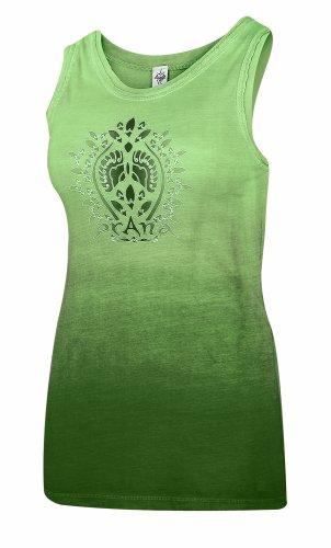 prAna–Damen Ombre Tank Palm Green