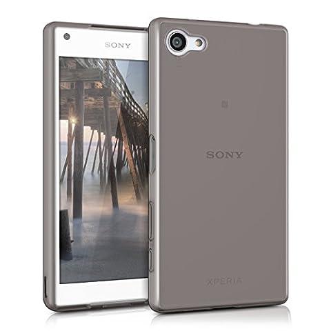 kwmobile Étui TPU silicone élégant et sobre pour Sony Xperia