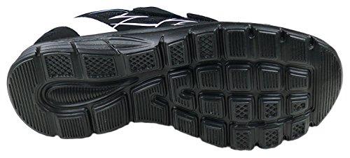 gibra , Baskets pour femme Schwarz/Weiß