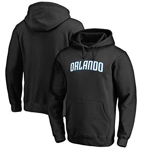 HS-HUWENHUI Basketball League/Orlando Basketball Team City Pullover Für Hooded Jumper Mit Praktischem Kängurutaschen-Fan-Kostüm,XL175~180CM