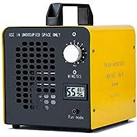 ELINP Generador de ozono Comercial, eliminador de olores, purificador de Aire de ozono Industrial, 10.000 MG/h, ionizador para Habitaciones, Humo, Coches y Mascotas - Amarillo