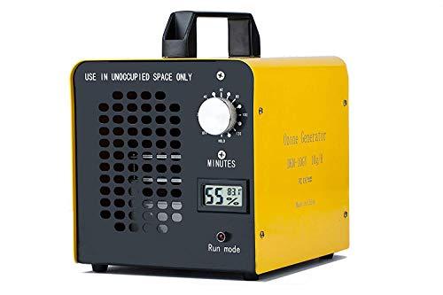 ELINP Generador de ozono Comercial, eliminador de olores, purificador de Aire de ozono Industrial, 10.000...