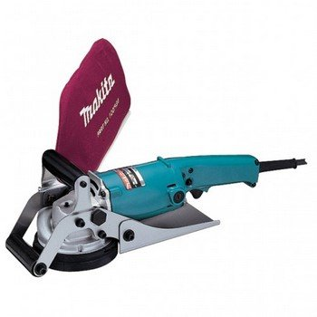 Makita PC1100/1 110 V 110 mm Concrete Planer - Blue