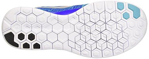 Nike Free 5.0 Print Scarpe da ginnastica, Uomo Multicolore (Rcr Bl/Rflct Slvr-Gmm Bl-White)