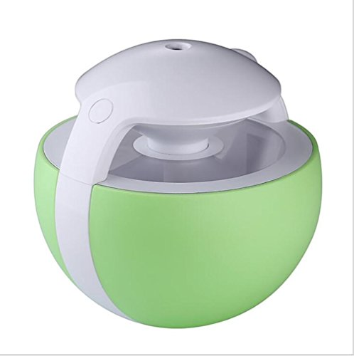 SCZLSYL Night Elves desktop USB humidificador mini purificador de aire oficina en el hogar , clear green