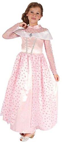 Stern Rosa Kostüm Prinzessin - P 'tit Clown re98164-Kostüm Kinder Luxus Prinzessin rosa Sterne, S 4/6Jahre