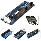 SLB Works Brand New 40Pin 3.5 IDE To 7+15 22 Pin SATA Male Adapter Internal Hard Drive Card Adapters