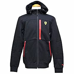Puma Mens Cotton Track Jacket (76224302_Puma Black_X-Large)