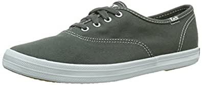 Keds Women's Champion CVO Lace Up Steel Grey wf34698 3 UK