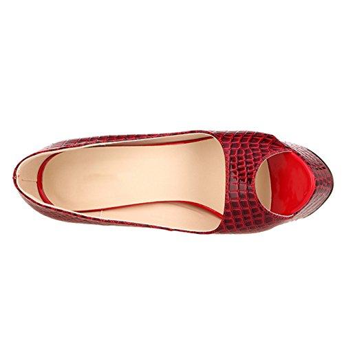Toes Toes Rot Toes Fereshte Fereshte Peep Damen Peep Fereshte Damen Rot Damen Rot Peep T6wxqCB7