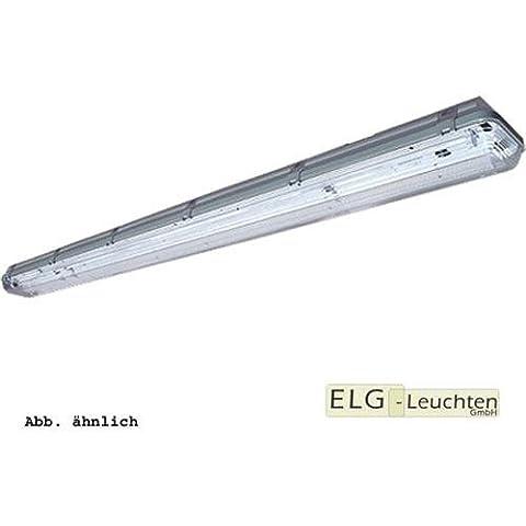 FL-249-W-E(PCA-ECO) (LM840) incluye tubos - trenkenchu espacio para lámpara, lámpara de techo, lámpara industrial 2 x 49 W - con resina de policarbonato cubierta y balastro electrónico