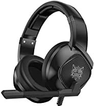 Gaming Headset for Xbox One, PS4,Nintendo Switch, PC with Mic - Surround Sound, Noise Reduction Game Earphone,